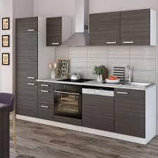 vicco küche 270 cm küchenzeile küchenblock einbauküche komplettküche anthrazit
