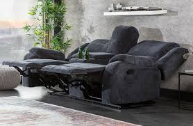 lounge sessel cinema grey designer bei nativo möbel schweiz