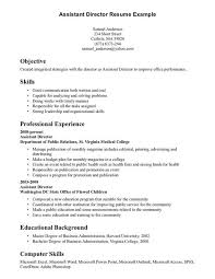 Organizational Skills Examples For Of Resume And Great