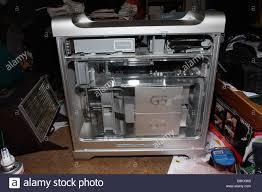 100 G5 Interior Apple PowerMac Side Door Open Showing Air Deflector And