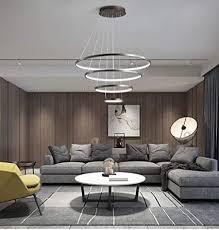 beleuchtung led kronleuchter kleine wohnung wohnzimmer