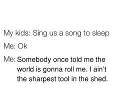 dopl3r com memes my kids sing us a song to sleep me ok me