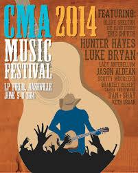Concept CMA Music Festival Posters