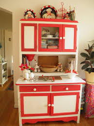 Possum Belly Kitchen Cabinet by Red And White Hoosier Kitchen Cabinet The Link Has Its Story And