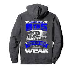 100 Big M Trucking Amazoncom CAUSE THIS AINT NO 95 Fun Truckers Hoodie