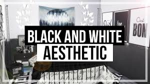 The Sims 4 Room Build Black And White Aesthetic Bedroom