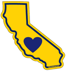 The California Designs Has A Sparkly Yellow State Fill Because Is Nicknamed Golden