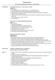 Download Vocational Nurse Resume Sample As Image File