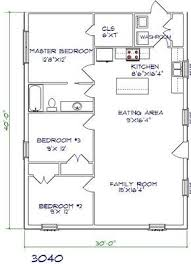 Barndominium Floor Plans 40x50 by Best 25 20x40 House Plans Ideas On Pinterest Barndominium Plans