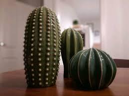 kakteen kaktus deko set dekoration deko grün badezimmer