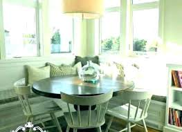 Booth Style Dining Table Kitchen With Seating Breakfast Room