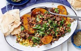 Pumpkin Hummus Recipe by Crispy Lebanese Lamb And Chickpeas With Pumpkin Hummus Recipe