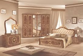 schlafzimmer 6 teilig in schwarz gold barock mit