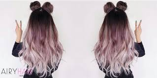 How to Dye Your Hair or Extensions Ombré at Home