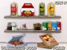 SimControl Packaging Food By Pilar O Sims 4 Downloads