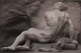 Patroclus Study From Jacques Louis David