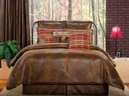Rustic King Size Duvet Covers Rustic Duvet Covers King Red Buffalo