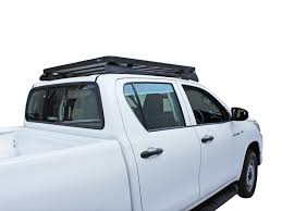 Toyota Hilux Revo DC (2016-Current) Slimline II Roof Rack Kit - By ... 19992016 F12f350 Fab Fours 60 Roof Rack Rr60 Costway Rakuten 2 Pair Canoe Boat Kayak Car Suv Racks And Truck Bike Carriers 56 Extended Mt Shasta Pioneer With Stargazer Montana Outback Limitless Accsories Offroad Rocky Roof Rack For Jeep Wrangler Heavy Duty Backbone Modula M1000 Steel Cap Discount Ramps Nissan Navarafrontier D23 Smline Ii Kit By Front Access Adarac Bed Elastic Luggage Net Whook 110 Scx10 D90 Trx4 Rc Van Ute 4x4 Racks Bike Box