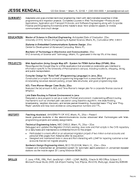 Sample Resumes For College Students With No Experience Fresh Architectural Intern Resume Example Hr Great