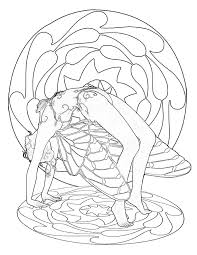 This Beautiful Yoga Fairies Coloring Book Has 64 Pages Of Designs If You Do Will Recognize That The Demonstrate Authentic Poses