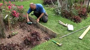 Flower bed edging options