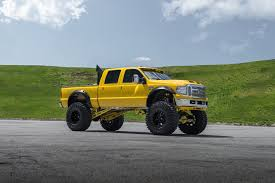Insane Monster Truck - Yellow Ford F-250 Super Duty On Huge Wheels ... Ford Truck Quad Cab With Huge Lift And Tires Dave_7 Gmc Lifted Trucks In North Springfield Vt Buick Dare You Daily Drive A Diesel The Pros Cons Of Having A Lift Kit Mack Big Trucks Lifted 4x4 Pickup Usa Intertional Xt Wikipedia Girlfriend Learns Stick Shift In My Lifted Truck Huge Offroad Liftkit Top Gun Customz Tgc Custom Ram Slingshot 1500 2500 Dave Smith With Stacks F Platinum Wd Crew Sema 2014