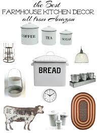 Stylish Farmhouse Kitchen Decor All At Affordable Prices