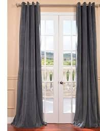Dkny Modern Velvet Curtain Panels by Eff Vintage Cotton Velvet Window Curtain Vintage Cotton Velvet