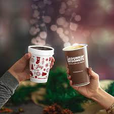 Dunkin Donuts Pumpkin 2017 by Dunkin U0027 Is Brewing Joy This Holiday Season With Free Coffee At