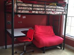 glamorous loft beds with desk and futon 81 for your modern home