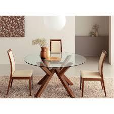 table de cuisine ronde en verre table de cuisine moderne en verre maison design bahbe com
