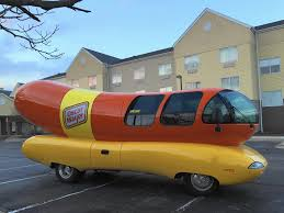 Wienermobile Parked In Naperville, Headed To Bolingbrook Friday ...