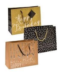 Glam Medium Birthday Gift Bags Tags 3