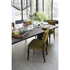 monarch 108 dining table i crate and barrel dining rooms