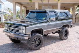 100 K5 Truck 1988 Chevrolet Silverado Blazer 4x4