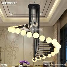 Cheap Chandeliers For Dining Room Modern Loft Industrial Chandelier Lights Bar Stair Lighting Retro