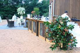Rustic Portable Bar Rental For Weddings And Parties