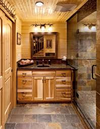 Installing Slate Tiles In Bathrooms...love The Color   House Ideas ... Bathroom Ideas Home Depot 61 Astonishing Figure Of Log Vanities Best Of Rustic With Calm Nuance Traba Homes Cabin Small Decorating Hgtv Office Arrangement Remodel Bedroom Theintercourse Awesome Log Cabin Bathroom Ideas Hd9j21 Tjihome Master Rustic Modern Cabins Luxury Progress Upstairs Cedar Potting Bench Upnorth Design Farmhouse Decor Luxury Nice Looking Sign Uncategorized Floor Plans Good Loft