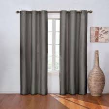 Burgundy Grommet Blackout Curtains by Eclipse Curtains U0026 Drapes Window Treatments The Home Depot