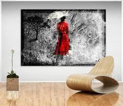 frau regenschirm bild leinwand abstrakte bilder wandbilder