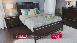 jerome s furniture midtown bedroom collection youtube