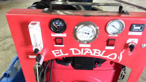 El Diablo Carpet Cleaning Truckmount - Sold - YouTube
