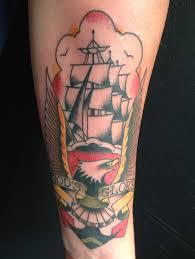 Sailor Jerry Eagle Ship Anchor