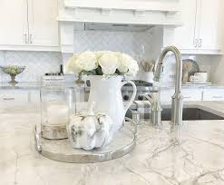 Redoubtable Kitchen Counter Decor Ideas 14 Could I Consider Subway Basketweave Countertop DecorFall