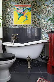 vintage badezimmer mit freistehender bild kaufen