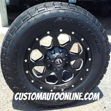 Custom Automotive :: Packages :: Off-Road Packages :: 18x9 Fuel ... Nitto Invo Tires Nitto Trail Grappler Mt For Sale Ntneo Neo Gen At Carolina Classic Trucks 215470 Terra G2 At Light Truck Radial Tire 245 2 New 2953520 35r R20 Tires Ebay New 20 Mayhem Rims With Tires Tronix Southtomsriver On Diesel Owners Choose 420s To Dominate The Street And Nt05r Drag Radial Ridge Allterrain Discount Raceline Cobra Wheels For Your Or Suv 2015 Bb Brand Reviews Ford Enthusiasts Forums