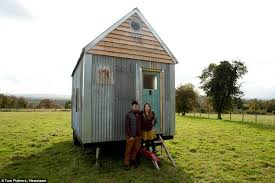 hereford couple build a cabin from scrap for just 1k so they
