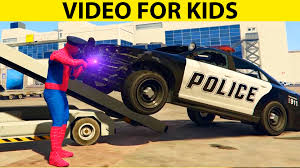 Police Car Repair! Monster Trucks In Spiderman Cartoon Children ... Monster Truck Stunt Videos For Kids Trucks Big Mcqueen Children Video Youtube Learn Colors With For Super Tv Omurtlak2 Easy Monster Truck Games Kids Amazoncom Watch Prime Rock Tshirt Boys Menstd Teedep Numbers And Coloring Pages Free Printable Confidential Reliable Download 2432 Videos Archives Cars Bikes Engines