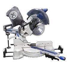 shop kobalt 10 in 15 amp single bevel sliding laser compound miter