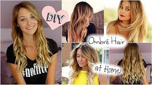 Hair How To Dye Your Hair Blonde From Brown At Home Beautiful Diy